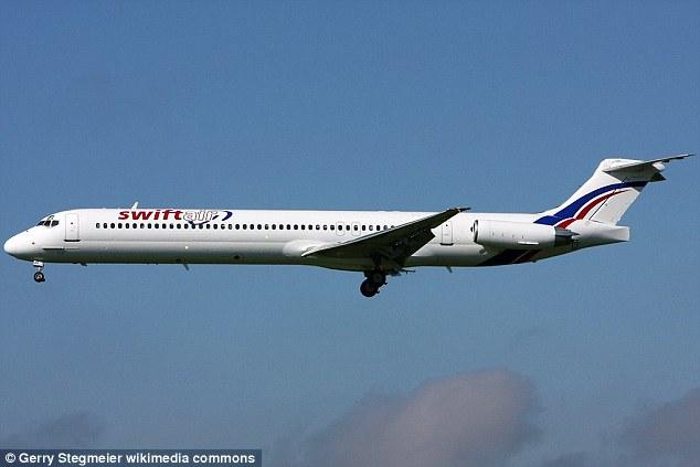 Algerian jet