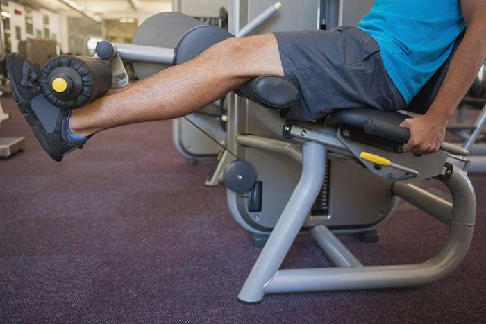 The Leg Extension Machine