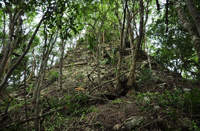 maya cities pyramidal