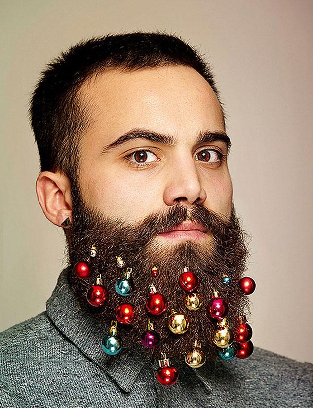 freaky Beard Baubles