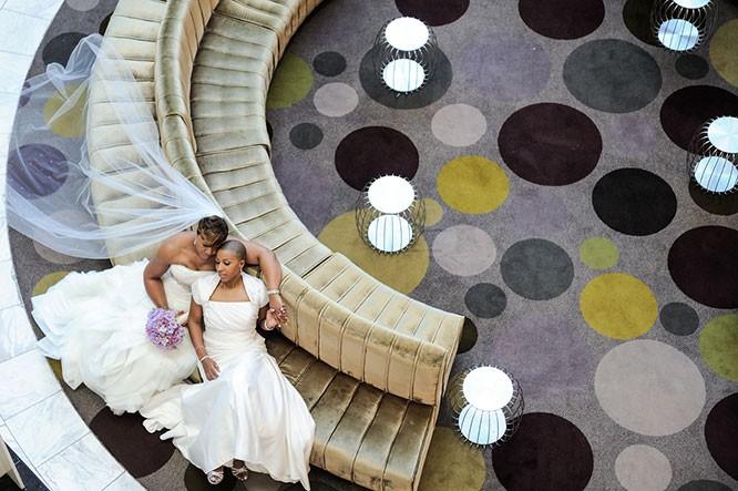 lesbian wedding pics