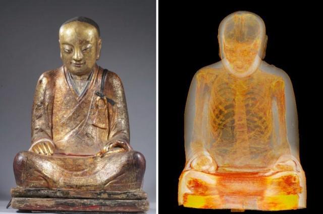 Ancient Buddhist Statue