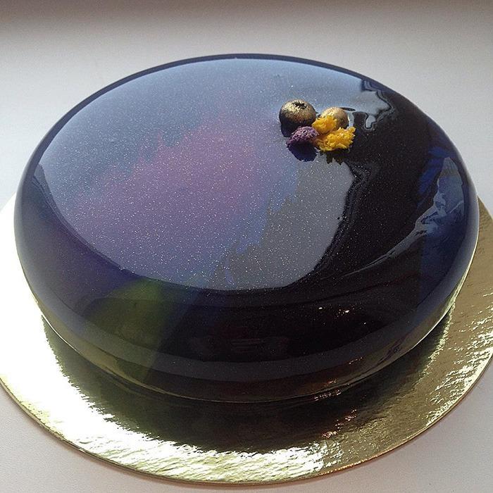 Mirror Marble Cakes